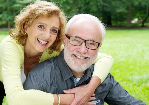 happy-mature-couple-outside